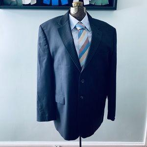 Ralph Ralph Lauren black pinstripe blazer